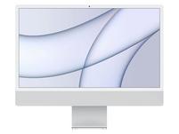 """Apple iMac 24"""", M1 8-Core CPU, 8-Core GPU, 8 GB RAM, 512 GB SSD, silber"""