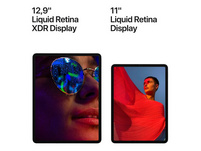 "Apple iPad Pro 11"" (2021), mit WiFi & Cellular, 256 GB, space grau"