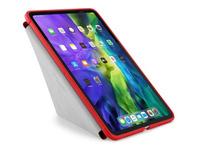 """Pipetto Origami Case, Schutzhülle für iPad Pro 11"""" (2018/19/20/2021), rot"""