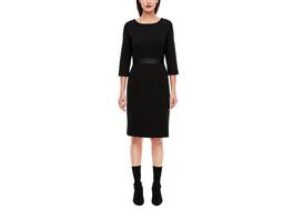 Interlock-Kleid mit Taillenblende - Shiftkleid