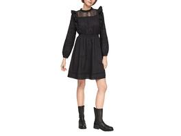 Spitzen-Kleid mit Volants - Kleid