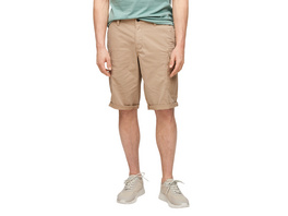 Relaxed Fit: Baumwoll-Bermuda - Baumwollstretch/Webware-Hose