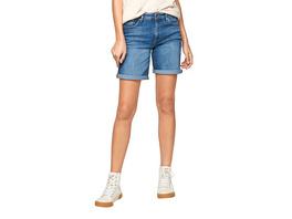 Slim: Bermuda mit Waschung - Jeans