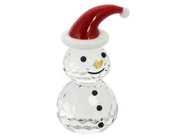 Kristallfigur - Snowman