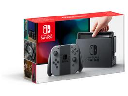 Nintendo Nintendo Switch Konsole grau (Farbe kann bei Gebrauchtware abweichend sein)