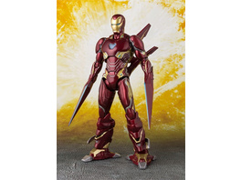 Marvel Iron Man - Figur MK 50 Nano Weapon