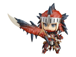 Monster Hunter World - Figur Rathalos Rüstung weiblich