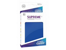 Ultimate Guard: Supreme UX Sleeves Standardgröße Blau