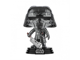 Star Wars - POP!-Vinyl Figur Ritter von Ren Schwert (Chrome)
