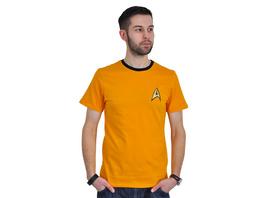 Star Trek - Kirk Uniform T-Shirt gelb