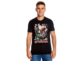 One Punch Man - Collage T-Shirt schwarz