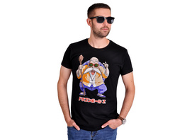 Dragon Ball Z - Muten Roshi T-Shirt schwarz