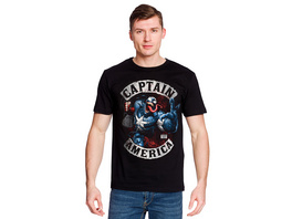 Captain America - Venomized T-Shirt schwarz