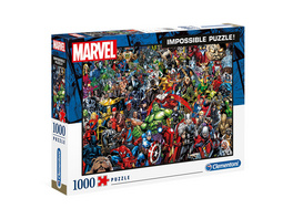 Marvel - Impossible Characters Puzzle