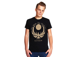 Skyrim - One With the Shadows T-Shirt schwarz