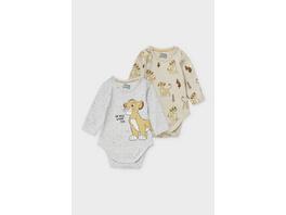 Multipack 2er - Simba - Baby-Body - Bio-Baumwolle