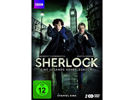 Sherlock - Staffel 1  [2 DVDs]