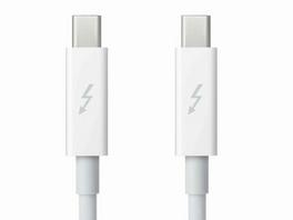 Apple Thunderbolt Kabel, 0,5 m, weiß