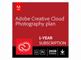 Adobe Creative Cloud Foto-Abo, Software, Aktivierungskarte