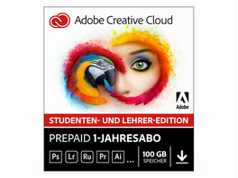Adobe Creative Cloud Individual Mac, Software, Edu-Version, Aktivierungskarte