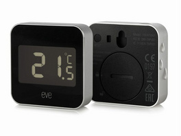 Eve Degree, Vernetzte Wetterstation, für iPhone/iPad, Bluetooth