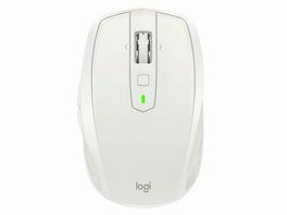 Logitech MX Anywhere 2S, kabellose Maus, 7-Tasten+Scrollrad, Bluetooth, grau