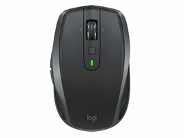 Logitech MX Anywhere 2S, kabellose Maus, 7-Tasten+Scrollrad, Bluetooth, grafit