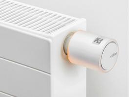 Netatmo Smartes Heizkörperthermostat, Zusatzprodukt, weiß