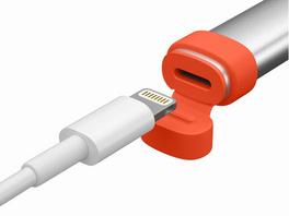 Logitech Crayon, digitaler Eingabestift, für Apple iPad, silber