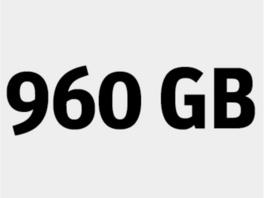 Kingston SA400 SSD, 960 GB, 6,35 cm interne SSD, SATA III