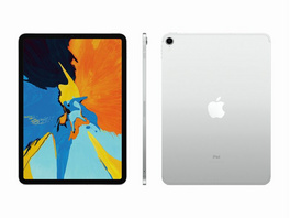 "Apple iPad Pro 11"", mit WiFi & Cellular, 64 GB, silber"