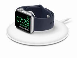 Apple Watch Magnetisches Ladedock, weiß