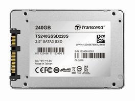 Transcend SSD220S, int. 240 GB SSD 6,35 cm, SATA III