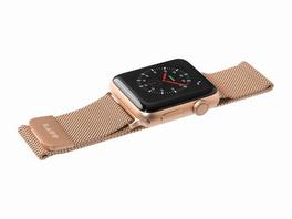 LAUT Steel Loop, Armband für Apple Watch, 38/40 mm, gold
