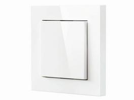 Eve Light Switch, smarter Lichtschalter, Bluetooth, weiß