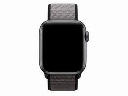 Apple Sport Loop, für Apple Watch 40 mm, Nylon, eisengrau