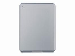 LaCie Mobile Drive, 5 TB ext. 6,35 cm Festplatte, USB-C/USB 3.0, grau
