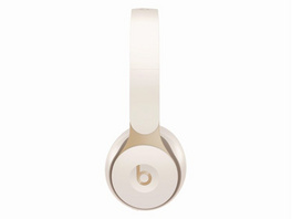 Beats Solo Pro, Wireless On-Ear-Headset, Bluetooth, ANC, elfenbeinweiß