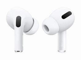Networx Earbuds-Set, Ersatztips für Apple AirPods Pro, 3er-Set, Silikon, weiß