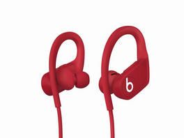 Powerbeats, Wireless In-Ear-Kopfhörer, Bluetooth, rot