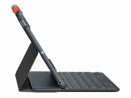 "Logitech Slim Folio, Tastatur-Case für iPad Air 10,5"" (2019), graphit"