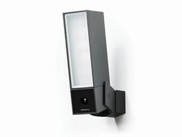Netatmo Smarte Außenkamera mit Alarmsirene, WLAN, Flutlicht, schwarz