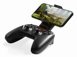 SteelSeries Nimbus+, Wireless Gaming Controller für Apple Geräte, schwarz