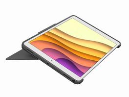 "Logitech Combo Touch, Tastatur-Case +Trackpad, iPad Air 10,5"" (2019), schwarz"