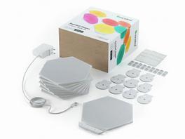 Nanoleaf Shapes Hexagon Smarter Kit, modulare LED-Lichtpaneele, 9-teiliges Set