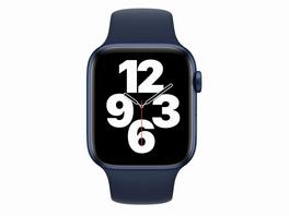 Apple Watch Sportarmband, für Apple Watch 42/44 mm, dunkelmarine