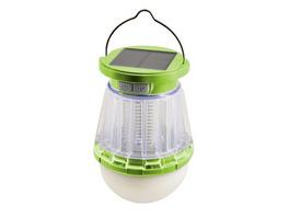Networx LED-Solarleuchte, Außenleuchte mit Insektenvernichter, IPX6, grün
