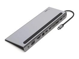 Belkin USB-C-11-in-1-Multiport-Dock, 4K-Adapter, HDMI/USB-C/DP/USB-3.0/microSD