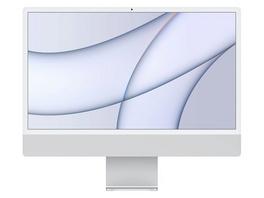 """Apple iMac 24"""", M1 8-Core CPU, 7-Core GPU, 8 GB RAM, 256 GB SSD, silber"""
