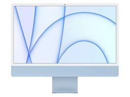 """Apple iMac 24"""", M1 8-Core CPU, 7-Core GPU, 8 GB RAM, 256 GB SSD, blau"""
